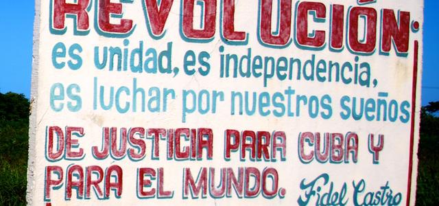 Redenen om te reizen  Wanderlust Cuba Revolucion
