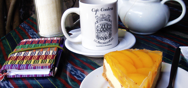 Cafe condesa antigua guatemala