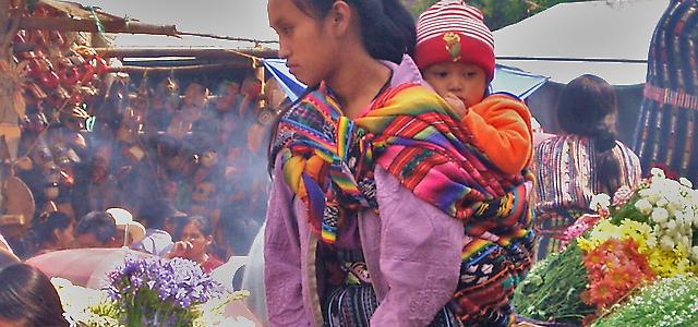 Top vijf plekken Guatemala  markt en San Thomas kerk  chichicastenango