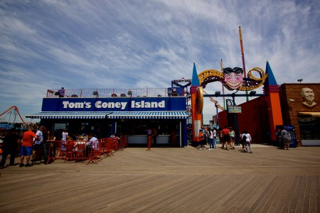 Tom's Coney Island - Brooklyn tip