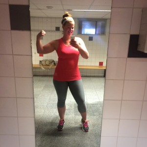 Fit is het nieuwe slank gymselfie 3