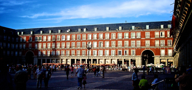 Salamanca omgeving Plaza Mayor Madrid