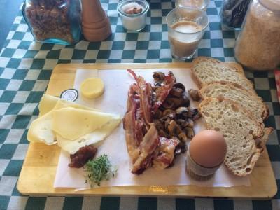 Ontbijtplank bij Picknick