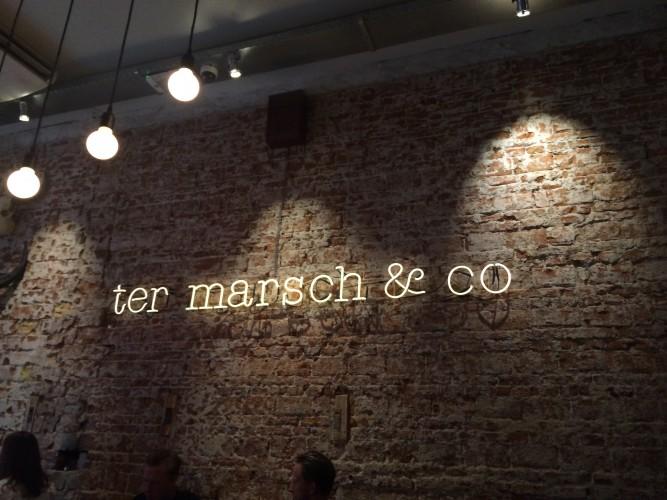 Burgers bij Ter Marsch & Co.